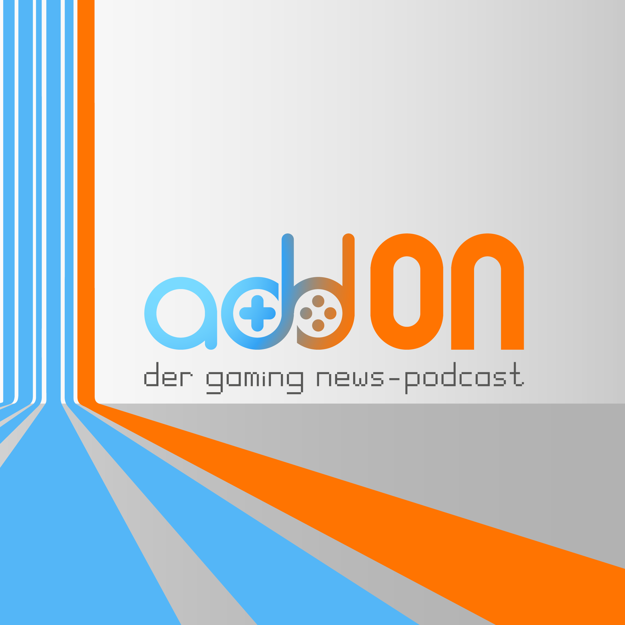 Logo von addOn - der gaming news podcast