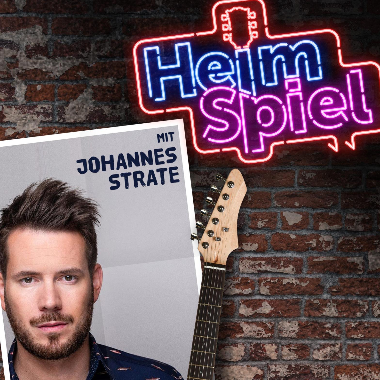 Heimspiel-Podcast mit Johannes Strate von Revolverheld