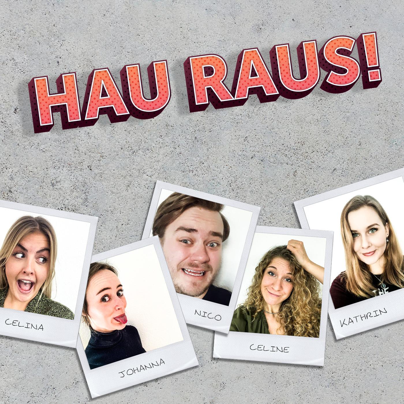 Logo vom Podcast Hau Raus!